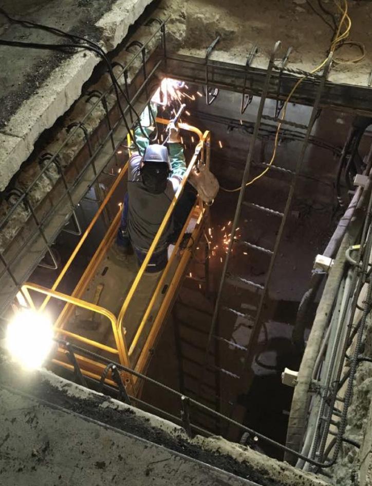 PG&E Concrete Vault Rehabilitation Project